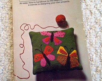 Basic Needlepoint, a how to handbook for the Beginner by Maxine Searls Small Softcover Book