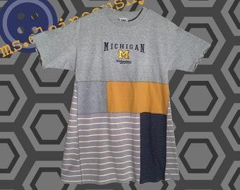 Michigan Women's Apparel, U of M Wolverines, Tailgate Clothes, Alumni, The Big House, Swing Shirt, Michigan Wolverines, Go Blue