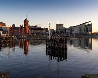 Cardiff Bay Reflections