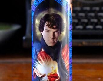 Saint Sherlock Prayer Candle