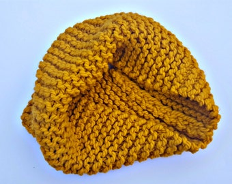 Chunky Knit Cowl // Knit Infinity Scarf // Mustard Cowl // Chunky Knit Scarf // Knitted Cowl // Winter Cowl // Fall Cowl // Classic Cowl