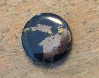 Gold Silver Ore Core Sample  Cabochon.Double sided.
