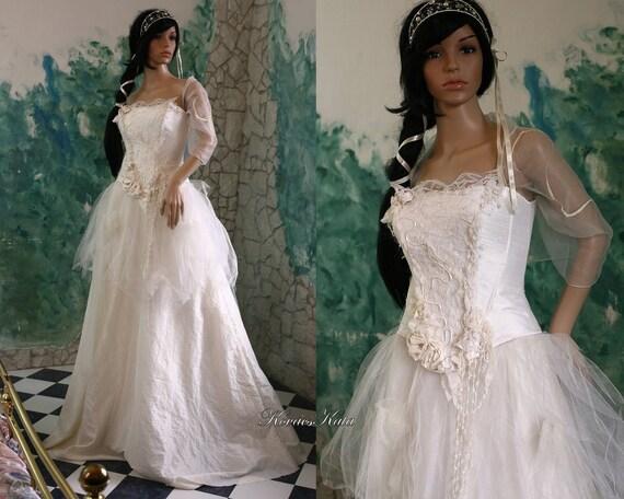 Fairytale Rococo Inspired Alternative Wedding Gown