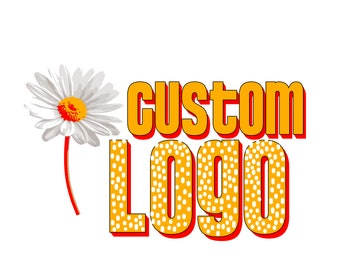 Custom Logo Digital Made on Photoshop and Made to Order [Branding Marketing Unique Logo]