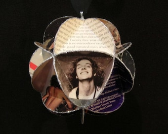 Peter Frampton Album Cover Ornament Made Of Repurposed Record Jackets