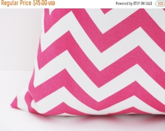 15% Off Sale Pink Pillow. Decorative Pillow. Cushion Cover, Pink Pillow Cover, Chevron Pillow, Accent Pillow , Cushion , sofa pillows , couc