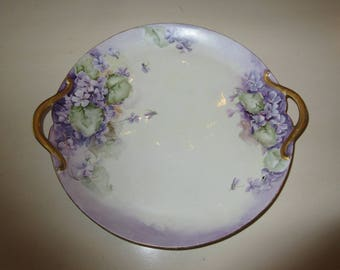 FRANCE GOA PLATE with Handles