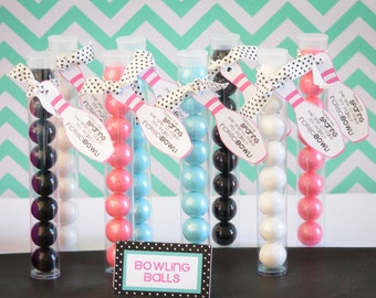 Bowling Party Favor-INSTANT DOWNLOAD