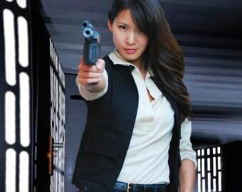 Han Solo Star Wars A New Hope Replica Shirt (Mens)
