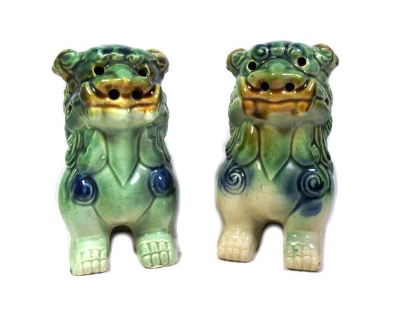 Vintage Chinese Foo Dogs