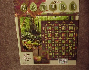 Debbie Mumm's--Quilting--Colors From Nature--50 Easy Quilts--Crafts And Gifts--Debbie Mumm--Leisure Arts