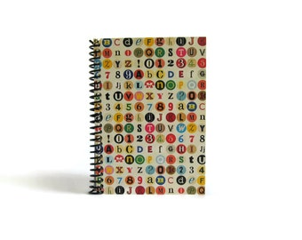 Colorful Dots Blank Notebook, Back to School, Pocket Sketchbook, Diary Journal A6 Draft Cute Gifts Under 20 4x6 Spiral Bound Writing Journal