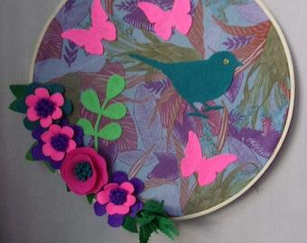 embroidery 34 cm diameter bamboo hoop