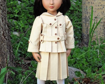 "Edwardian ""Ramble"" sewing pattern for 16-18"" Dolls"