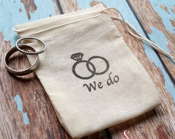 Wedding ring bag Etsy