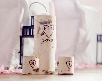 Wedding Unity Candle, Unity Candle Holders, Unity Ceremony, Rustic Chic Wedding Decor