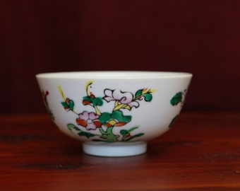 Vintage Hand Painted Bowl