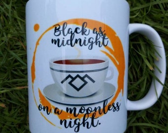 Black as midnight on a moonless night twin peaks, sale, second, seconds, gift idea
