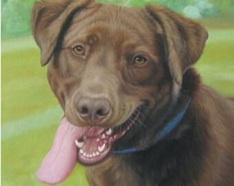 Custom Portrait, Pet portrait, Personalized gift, Memorial art, Dog portrait, Custom dog portrait, Custom pet painting, Custom pet portrait