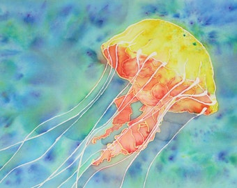 Sea Creatures: Jellyfish 1 (Print)