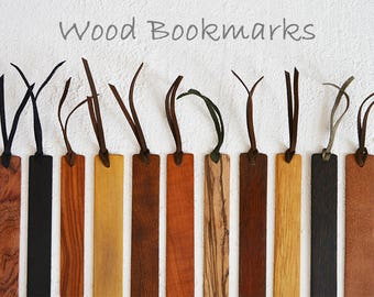 Wooden Bookmark, Page marker, Book lovers gift, Gift for reader, Literary bookmarks, Natural bookmark, Wood page marker, Blank bookmark