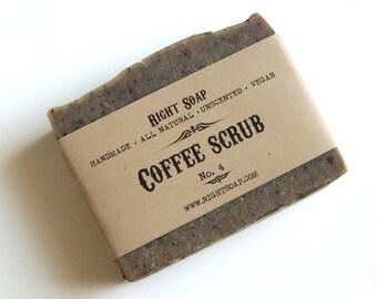 Scrub Soap Bar Exfoliating Coffee Lover Gift All Natural Soaps Coffee Scrub Soaps Vegan Homemade Soap