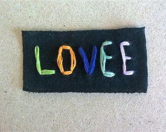 Rubblebucket LOVEE patch