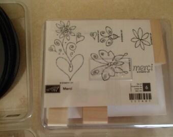 Stampin Up Merci Stamp Set