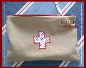 Kit, medicine, travel or car first aid kit, Kit to take package travel