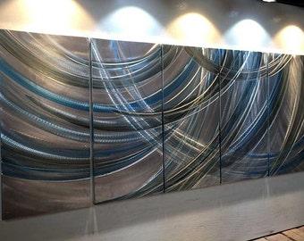 Oil Painting Wall 3D Metal Painting.Metal Sculpture Wall Art Metal Wall Art. Original Abstract Wall Art  Modern Contemporary Metal Wall Art.