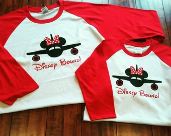 Disney Bound Vacation Shirts, sizes S-XL, without bow for men, cute and comfy