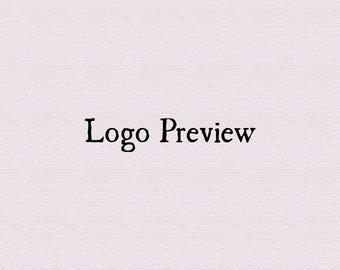 Try before you buy, Premade logo, Test your logo, Premade custom logo