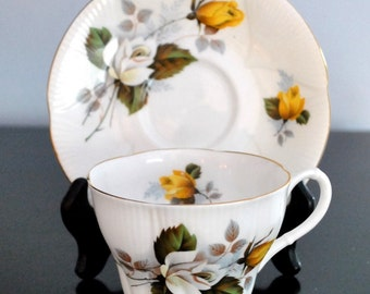 VINTAGE ROYAL ALBERT CUP AND SAUCER MADE IN ENGLAND