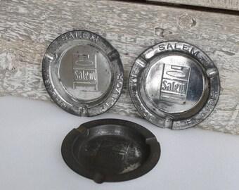 3 Salem Ashtray Vintage Salem Menthol Flavor
