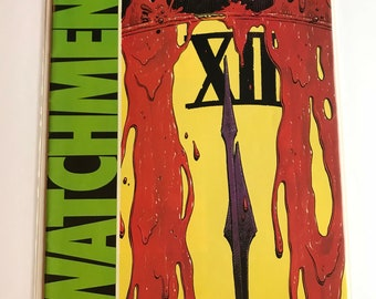 Watchman #12 (First Print, 1987, VF, Alan Moore)