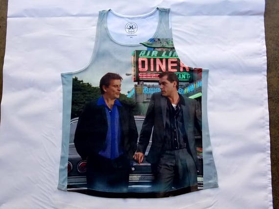 Scarface Tony Montana Beach tank top sublimation T shirt cepBu7PH