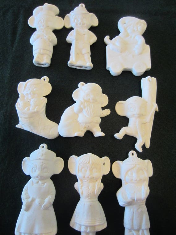 Diy unpainted ceramic christmas ornaments kids craft supply bisque diy unpainted ceramic christmas ornaments kids craft supply bisque mouse decoration ready to paint project do it yourself from prairiegypsywagon on etsy solutioingenieria Choice Image