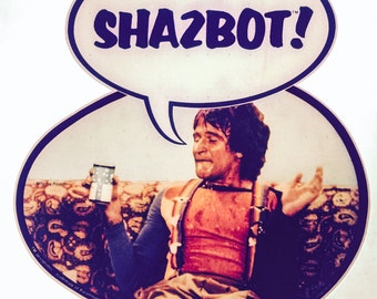 """Mork from Ork """"Shazbot!"""" Vintage 1978 Paramount Pictures Iron On Heat Transfer"""