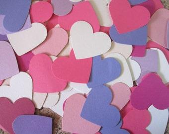 Hearts die 50 pieces