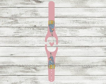 Donkey Birthday Decal for Disney Magic Bands| MagicBand 1 or 2 Skin | Fits Both Adult & Child Bands | Avail. on Glitter or Glow in the Dark
