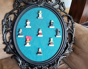 Black Lego Frame Display Case