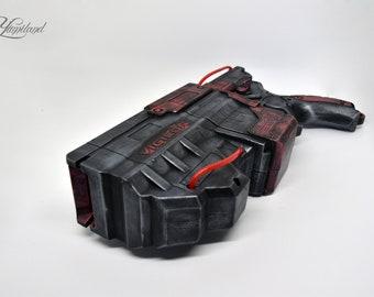 Steampunk Gun, Steampunk Nerf Gun Firestrike, Custom Nerf Gun, Nerf Vigilon, Sci fi prop