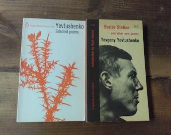 Yevtushenko Selected Poems Penguin Modern European Poets Series
