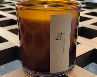 Fig Scented Artisan Soy Candle