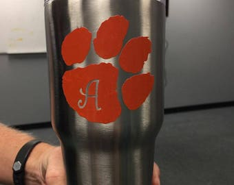 Personalized Paw Vinyl Decal***FREE SHIPPING***