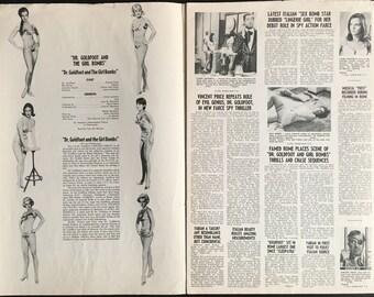 US Pressbook Dr Goldfoot and the Girlbombs dir Mario Bava