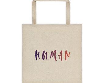 Human Tote bag
