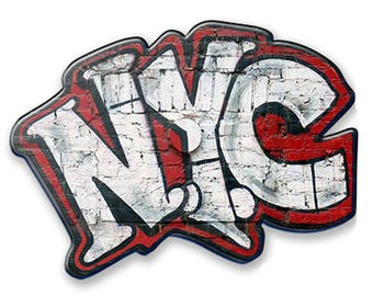 Andre Charles NYC Graffiti Acrylic Magnet