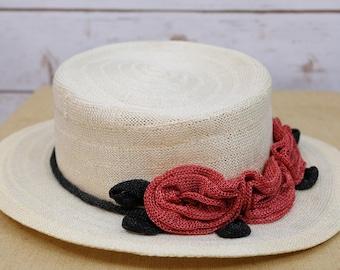 Vintage Saks Fifth Avenue Sun Hat