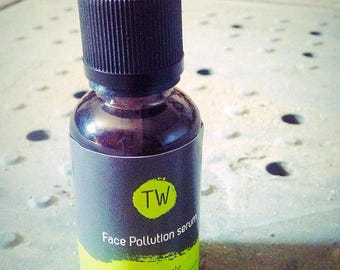 Face serum pollution